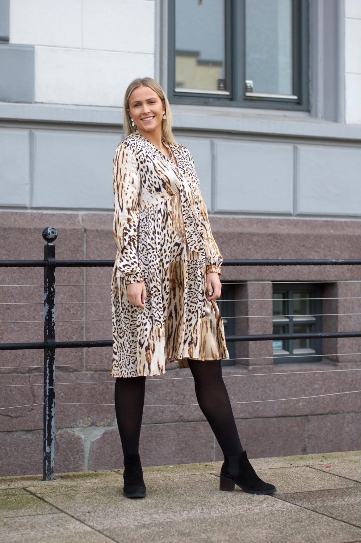 dc080aac15fe Gustav Frill Dress Leopard - Villa Flamingo